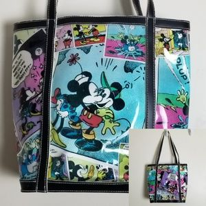 Disney Mickey Mouse Minnie Comic Tote Bag